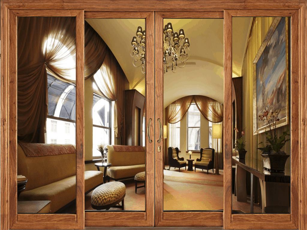 giá cửa kính cường lực khung gỗ