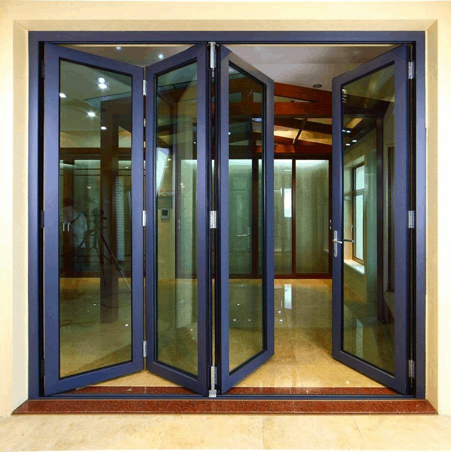 cửa kính cường lực khung sắt