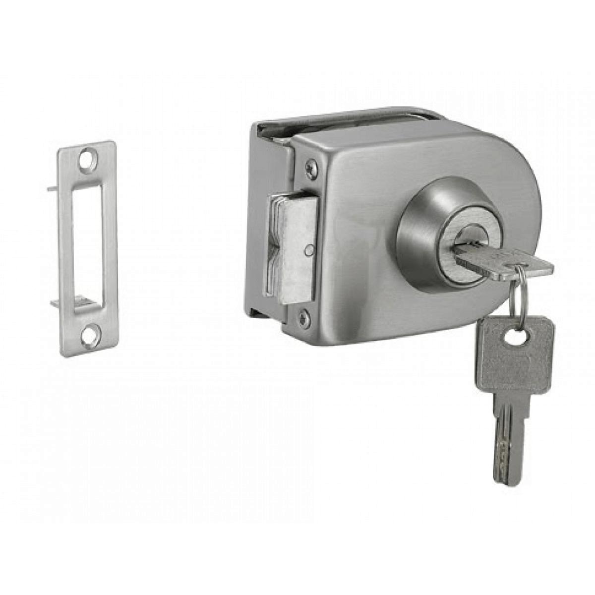 ổ khóa cửa kính cường lực