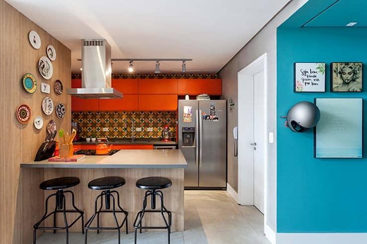 tủ bếp nhỏ