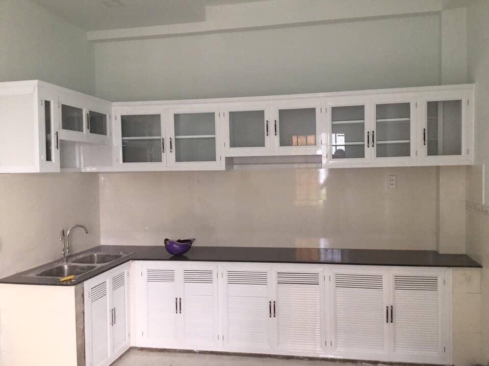 tủ bếp nhôm kính Thanh Xuân