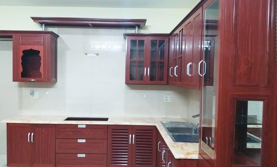 tủ bếp nhôm đẹp